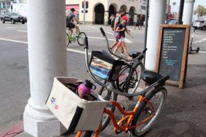 Two Bikes in Venice